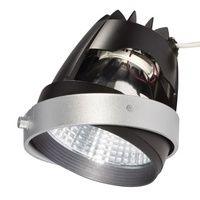 MODULE COB LED pr AIXLIGHT PRO, gris 70° 4200K, IRC90, produits frais - Gris argent/noir