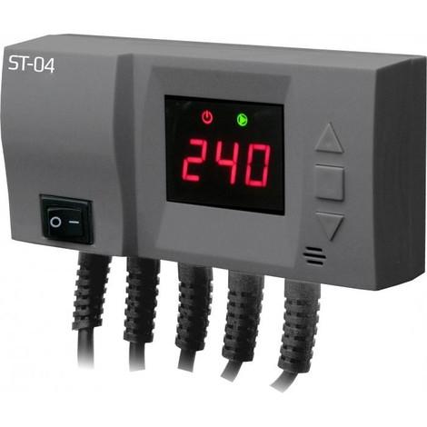 Module de commande pour chaudière: pompe de chauffage central et ventilateur LED