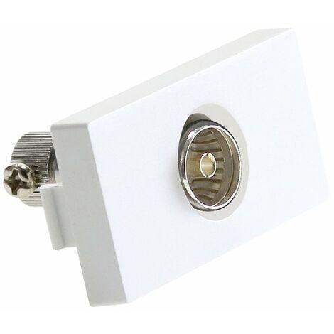 Module de Connexion Antenne / TV Blanc | IluminaShop
