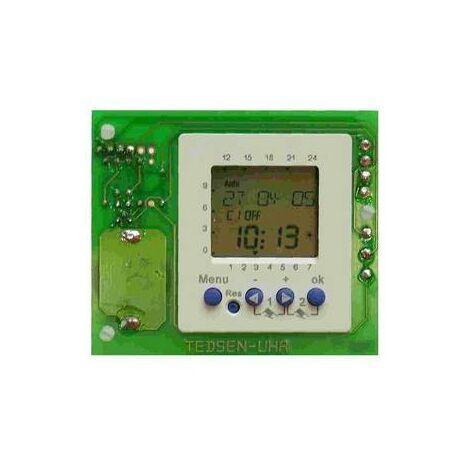 Module de minuterie hebdomadaire / horloge enfichable 2 canaux ELKA - 6000085.