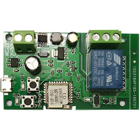 Module De Relais Sans Fil De Commutateur De Wifi, Dc5V 12V 24V 32V