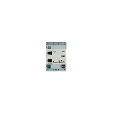 Module d?extension d?installation BUS 2 fils 4 modules DIN BTICINO 346851