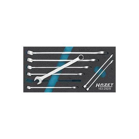 Module d'outillage 163-292/8 clés mixtes HAZET 1 PCS