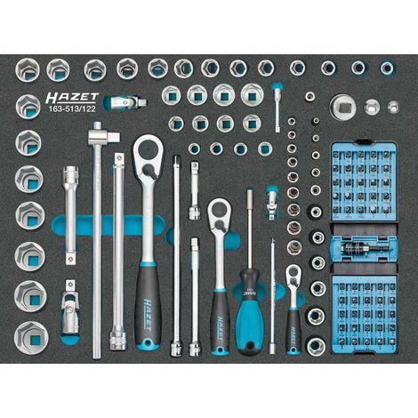 Module d'outillage 163-513/122 douilles HAZET 1 PCS