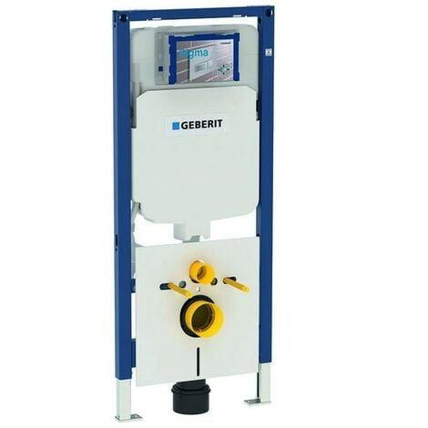Module Duofix pour WC suspendu 114 cm avec réservoir de chasse Sigma 8 cm Geberit 111.795.00.1   Blanc