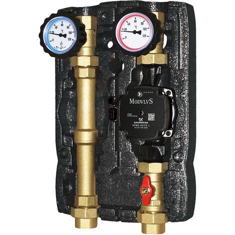 Module hydraulique direct à deux voies avec circulateur à haute prévalence