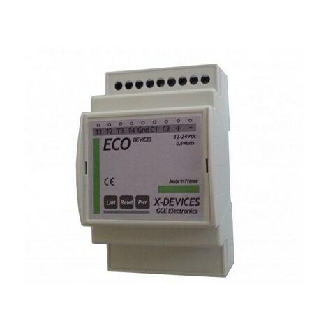 Module IP de suivi de consommmation Eco-Devices - GCE Electronics