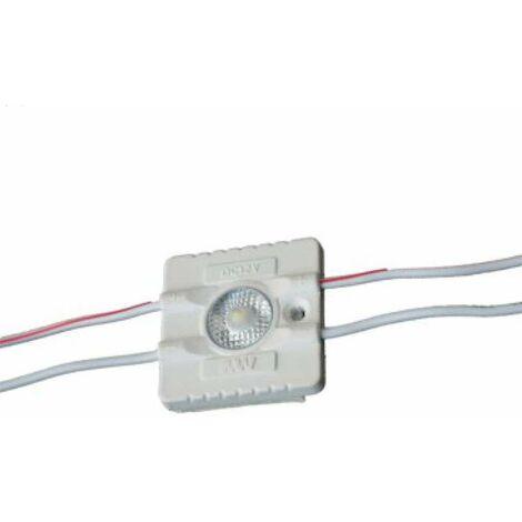 Module LED 1,2W DC12V IP67 pour Caissons Lumineux Blanc Jour 6500K
