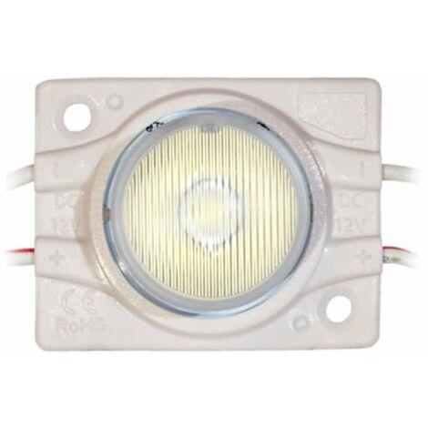 Module LED 2,4W DC12V IP67 pour Caissons Lumineux Blanc Jour 6500K