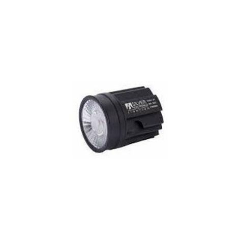 Module LED Cob 9w Lumière chaude 3000k Non gradable 720 lumens pour ALUS, BOULON, SONA Argent 409030 supports de fixation