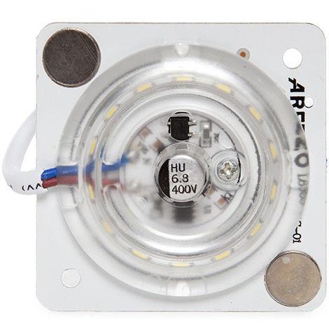 Module LED Retrofit Plafonnier 12W 1440Lm 30.000H   Blanc froid (AOE-XDD-301-CW)