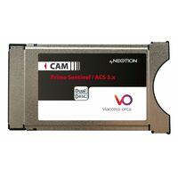 MODULE PCMCIA VIACCESS DUAL NEOTION Dernière génération ACS 3.x BIS TV BEIN SPORT