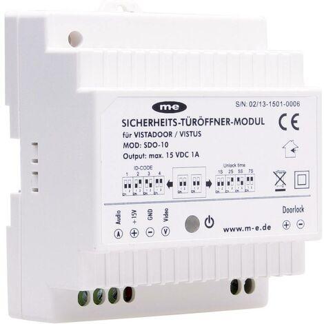 Module pour gâche électrique dInterphone m-e modern-electronics SDO-10