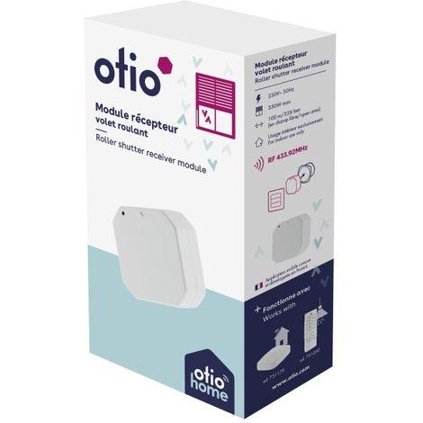 Module récepteur encastrable pour volets roulants connecté - Otio