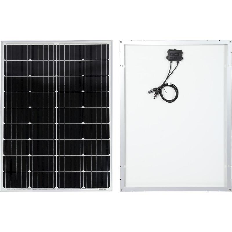Panneau Plaque Solaire 150w 12v Monocristallin Module Semi Flexible