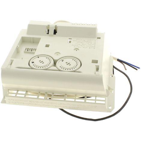 Module thermostat 2 molettes+curseur pour Radiateur Thermor, Radiateur Sauter, Radiateur Atlantic
