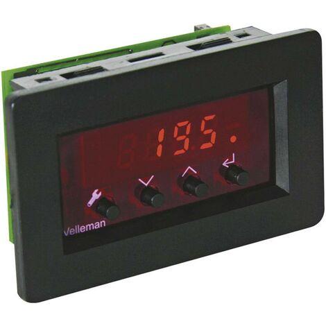 Module thermostat (kit monté) Velleman VM148 9 V/DC, 12 V/DC -18 à 60 °C 1 pc(s)