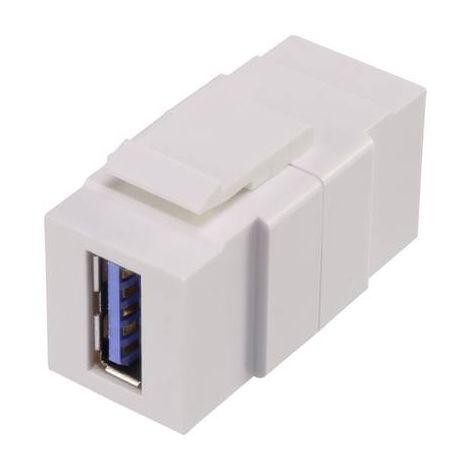 MODULE USB 3.0 ENCASTRABLE KEYSTONE RENKFORCE RF-KS-USB3 RF-3241286
