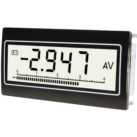 Module voltmètre et ampèremètre Dimensions encastrées 68 x 33 mm TDE Instruments DPM802-TW Q54152