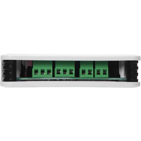 Modulo conmutador 4CH WIFI, RF 433MHz 4 Gang, Wireless Smart Switch, + 1PCS 4 Boton de mando a distancia
