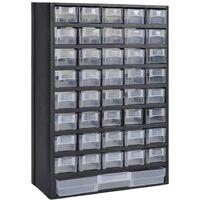 Módulo de 41 cajones de almacenamiento de plástico