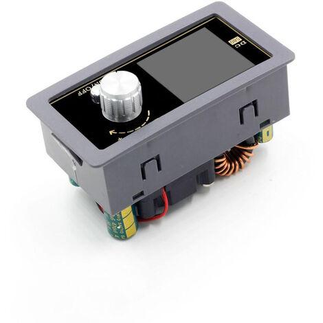 Modulo de alimentacion, amperimetro de voltimetro de fuente de alimentacion regulada ajustable de 0.6-30V 5A