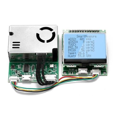 Modulo de elemento sensor multifuncion Polvo PM10 PM2.5 Material particulado CO2 HCHO TVOC Sensor