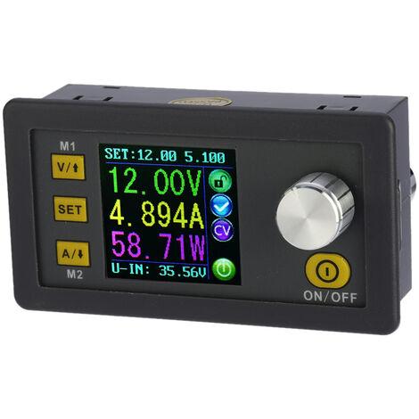 Modulo de fuente de alimentacion reductor de corriente de voltaje constante programable digital LCD, DC 0-32.00V / 0-5.000A