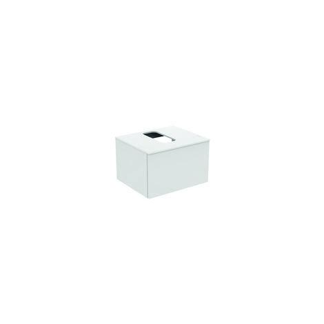 Módulo de lavabo Ideal Standard Adapto para lavabos Strada II, hueco central, 1 hueco, 600mm, color: Pino decorado con luz - U8594FF