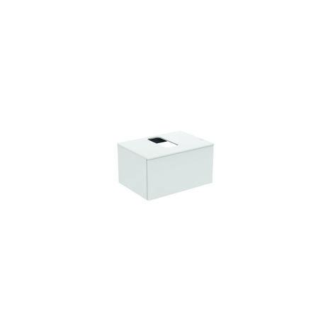 Módulo de lavabo Ideal Standard Adapto para lavabos Strada II, hueco central, 1 hueco, 700mm, color: Pino decorado con luz - U8595FF
