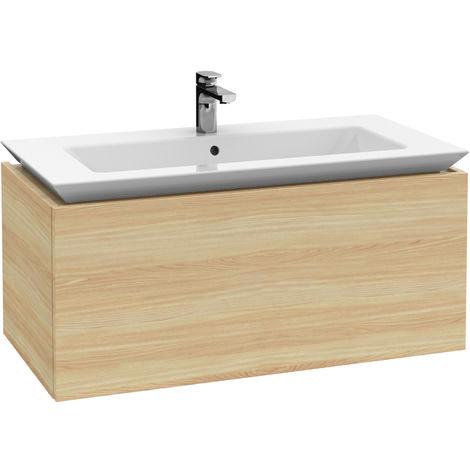 Módulo de lavabo Villeroy & Boch Legato B222, 1000x425x500mm, lavabo de armario, color: Gris brillante - B22200FP