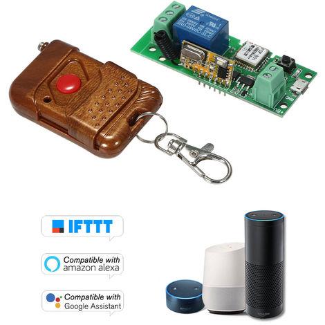 Modulo de rele conmutador inalambrico USB DC 5V 433Mhz Wifi, inteligente Modulos de Inicio