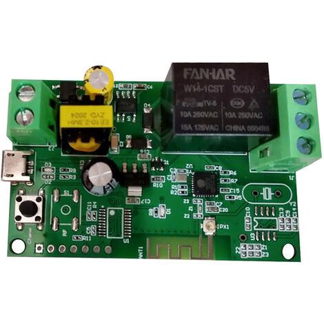 Modulo de rele inalambrico con interruptor Wifi,control remoto de la aplicacion, DC5V/AC85-250V