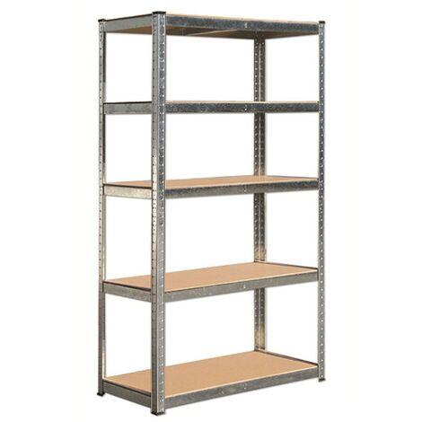 Modulo estanteria sin tornillos 90x40x180 cm. (5 bateas)