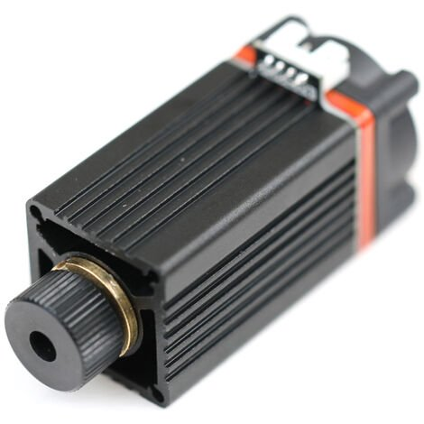 Modulo laser KKmoon de 10 W, modulo de grabado de repuesto para maquina de grabado laser, impresora 3D, maquina laser CNC, Negro