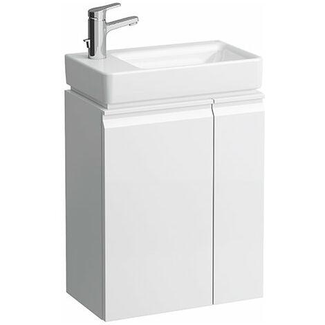 Módulo Laufen Pro S, para lavabo 815955, estante lateral derecho, 480x275x580, color: Nieve (blanco mate) - H4830010954631