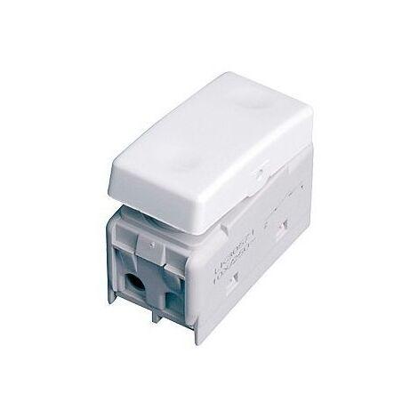 Modulo Pulsador estanco para caja exterior IP55 10A 250V.