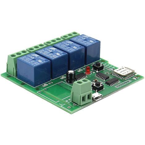 Modulo universal de interruptor de control remoto inteligente, 4 canales DC 5 V