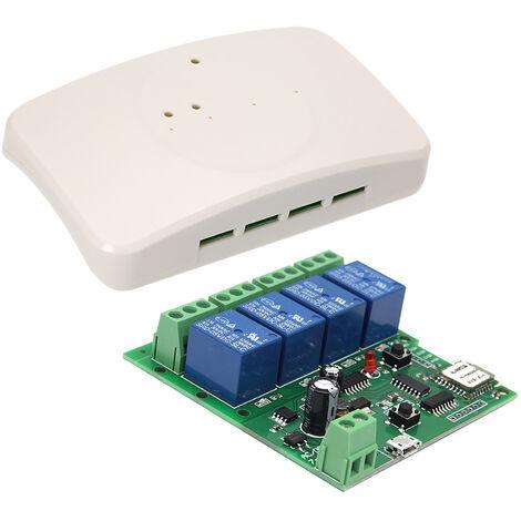 Modulo universal de interruptor de control remoto inteligente, 4 canales DC 5V