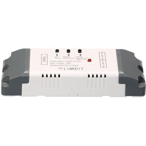 Modulo universal de interruptor Wifi inteligente, 2 canales, DC / AC7-32V