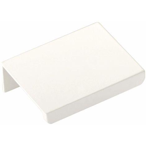 Möbelgriff Griffleiste BLANKETT Jane Chrom weiß oder schwarz 50 - 780 mm
