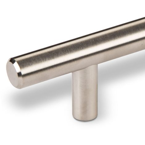Möbelgriff Stangengriff G17 echt Edelstahlrohr Ø 12 mm BA 64 - 320 mm