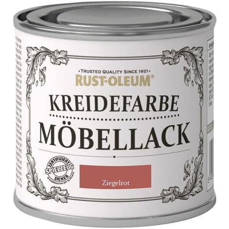 Moebellack Ziegelrot 125ml