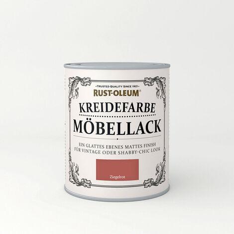 Moebellack Ziegelrot 750ml