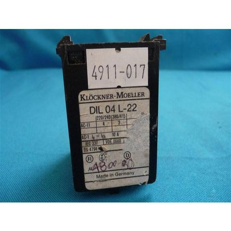 Moeller DIL04L-22 Universalhilfsschalter