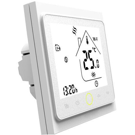 Moes Wi-Fi Thermostat Intelligent Contr?leur, Temp¨¦rature App Contr?le, Blanc