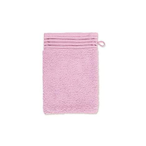 Möve Loft Gant de Toilette, Coton, Rose, 15 x 20 cm