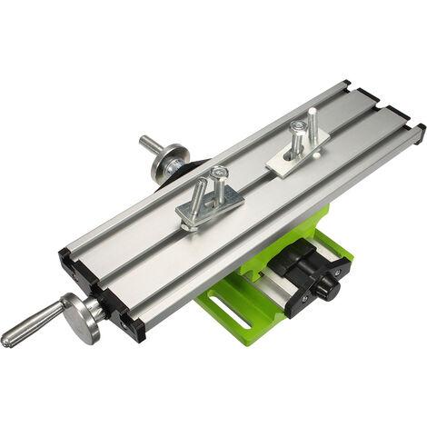 Mohoo Milling Machine Bench Drill Vise Fixture Multifunctional Adjustment Worktable
