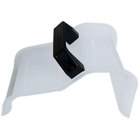 Molde de clip de fijacion de forma de hormigon de jardin de yeso de suelo de plastico de modelado de bricolaje