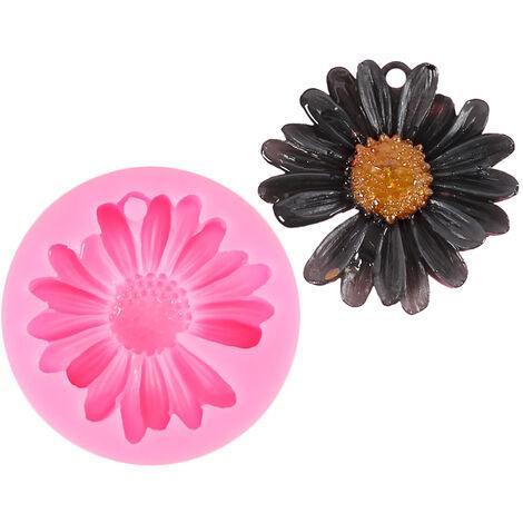 Molde de silicona epoxi moldea DIY Resina joyeria hecha a mano Accesorios decoracion de la tabla, 2 #